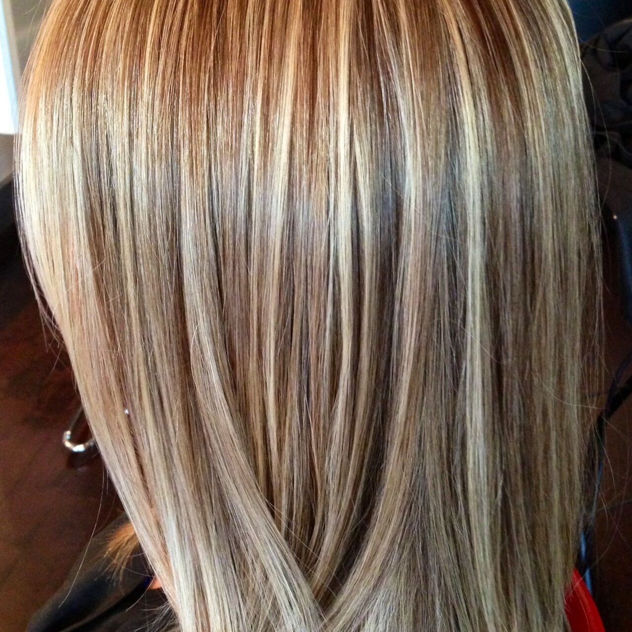 highlights foiling